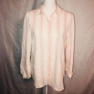 NWT..Ann Taylor Loft Button Down Shirt